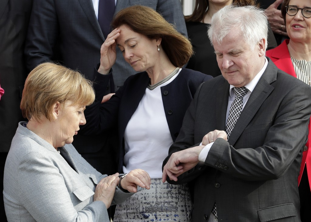 Bavaria votes in tough test for Merkel's conservative allies