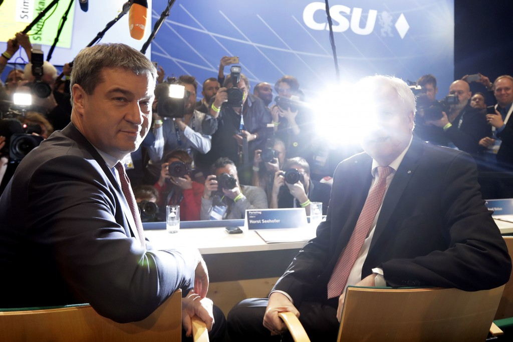 Merkel's Bavaria ally CSU suffer 'massive losses'