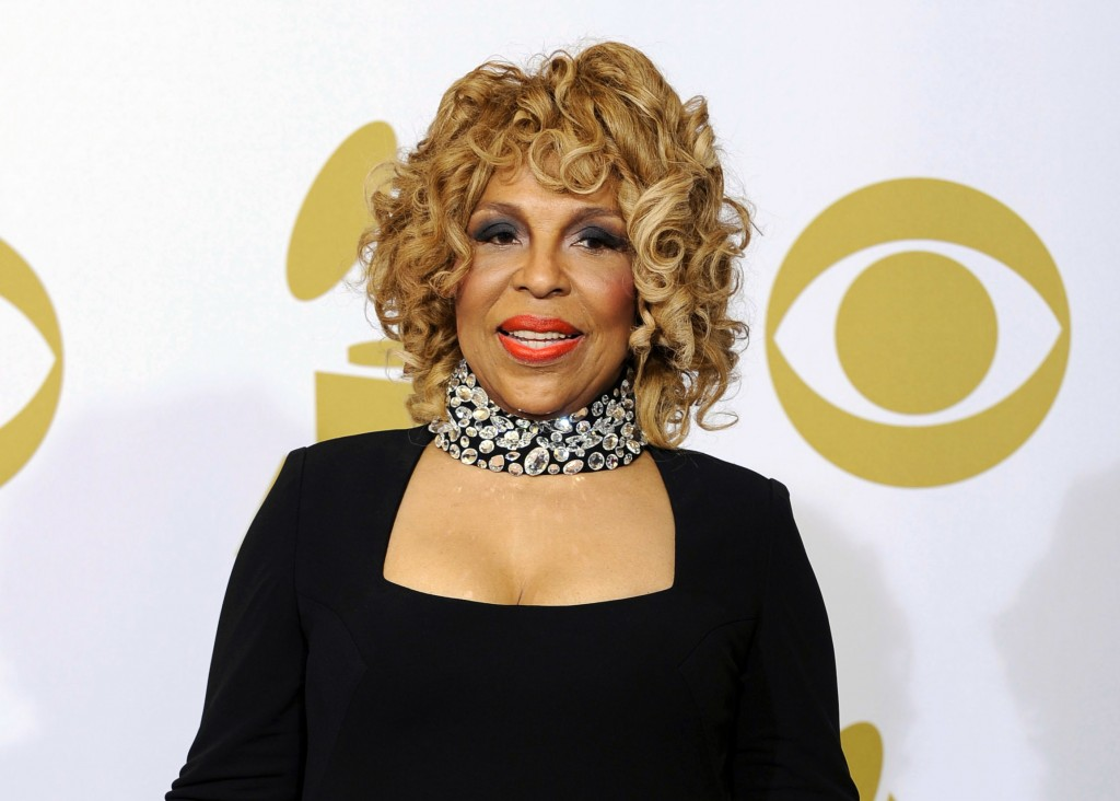 FILE - In this Jan. 31. 2010 file photo, Roberta Flack poses backstage at the Grammy Awards in Los Angeles. The 81-year-old music legend will be honor