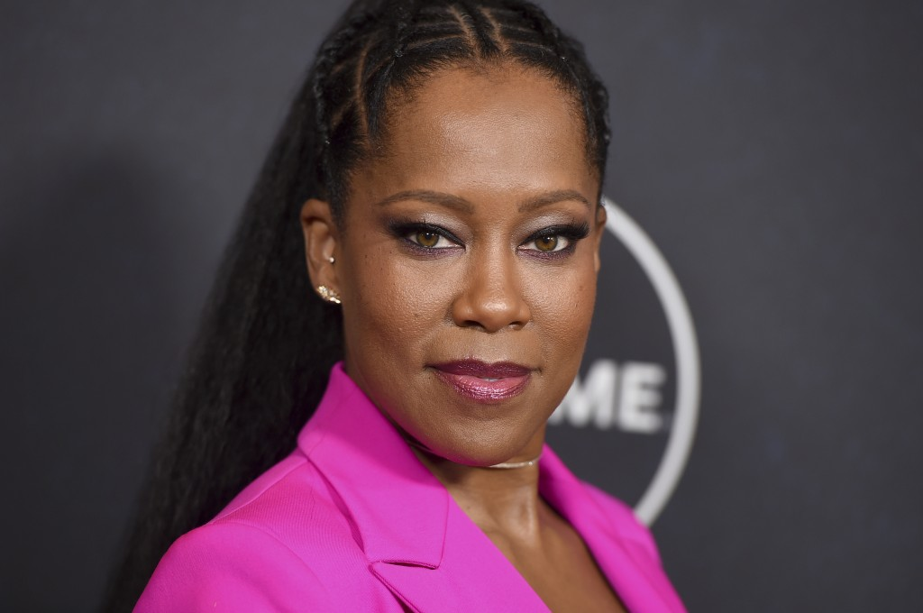 Regina King arrives at Variety's Power of Women event on Friday, Oct. 12, 2018, at the Beverly Wilshire hotel in Beverly Hills, Calif. (Photo by Jorda