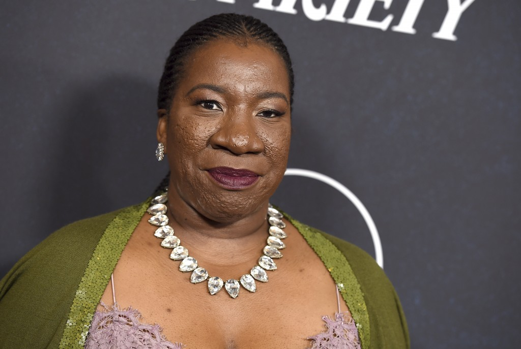 Tarana Burke arrives at Variety's Power of Women event on Friday, Oct. 12, 2018, at the Beverly Wilshire hotel in Beverly Hills, Calif. (Photo by Jord
