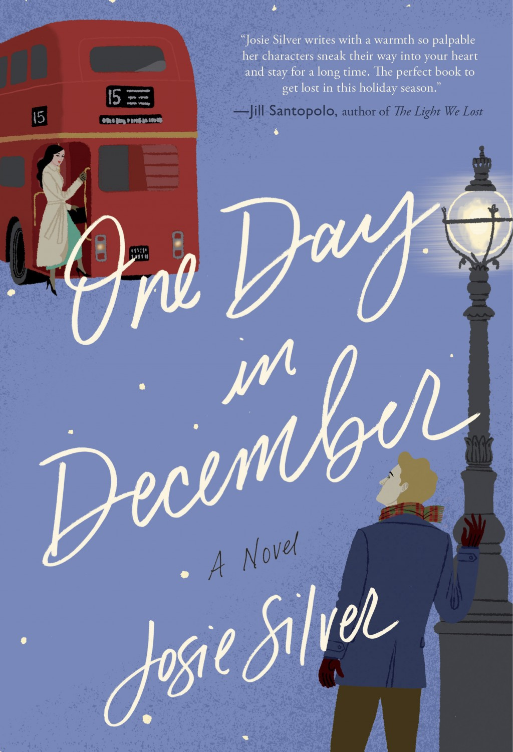 """This cover image released by Broadway Books shows """"One Day in December,"""" a novel by Josie Silver. (Broadway Books via AP)"""