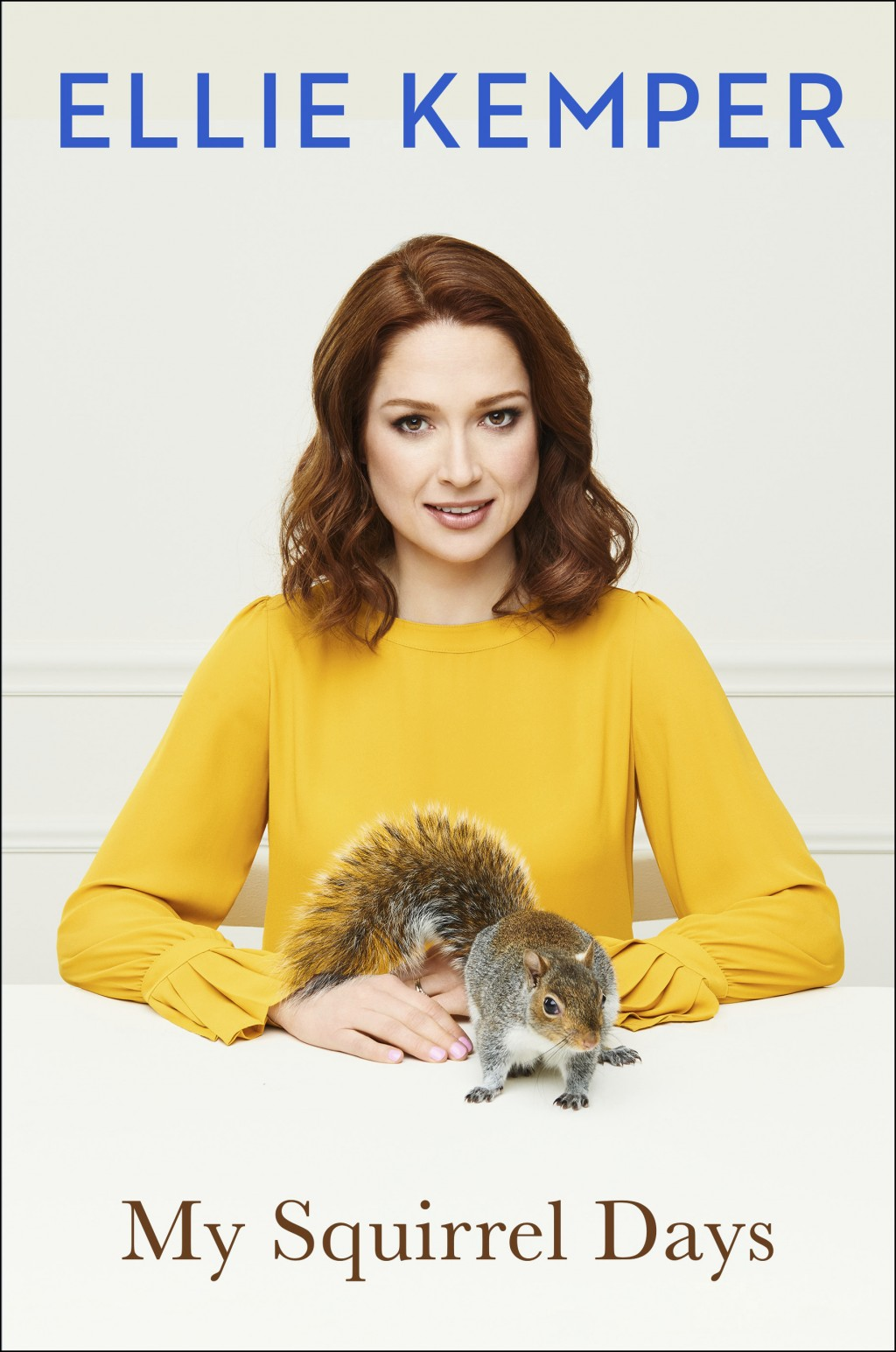 "This cover image released by Scribner shows ""My Squirrel Days,"" by Ellie Kemper. (Scribner via AP)"