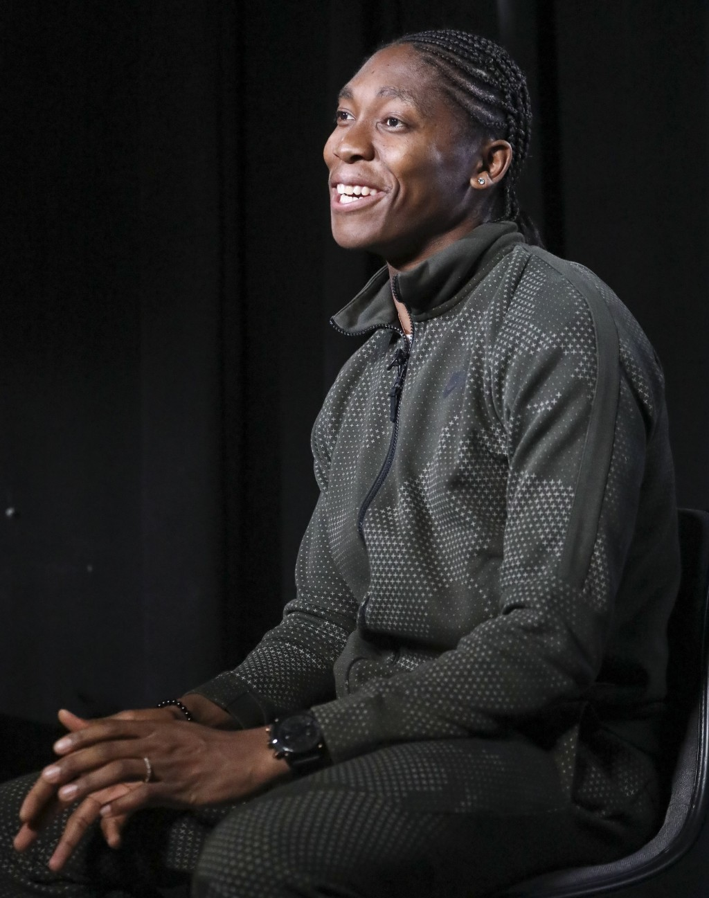 Caster Semenya, the current 800-meter Olympic gold and world champion from South Africa, and the latest recipient of the Wilma Rudolph Courage Award, ...