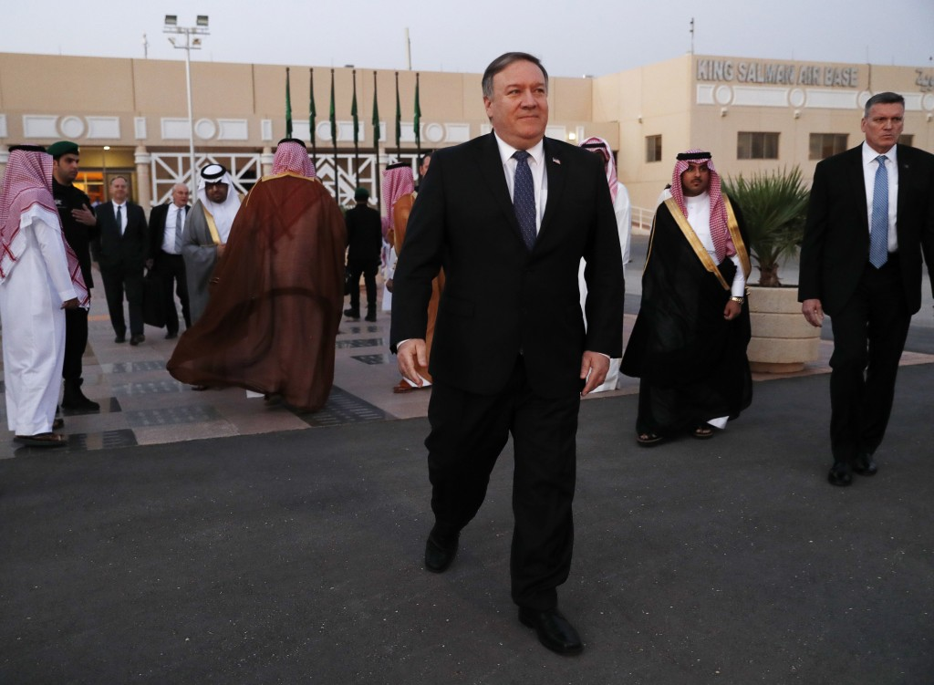 Mike Pompeo Meets Turkish President Amid Saudi Journalist's Disappearance