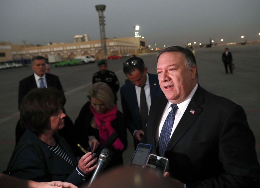 Pompeo sees 'serious commitment' from Saudis on missing journalist