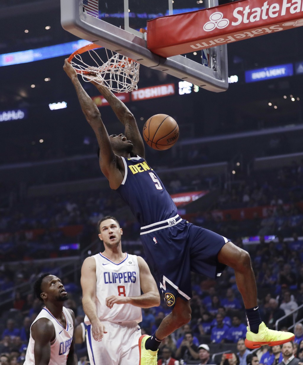 Nuggets Rally In Fourth To Defeat Clippers In...