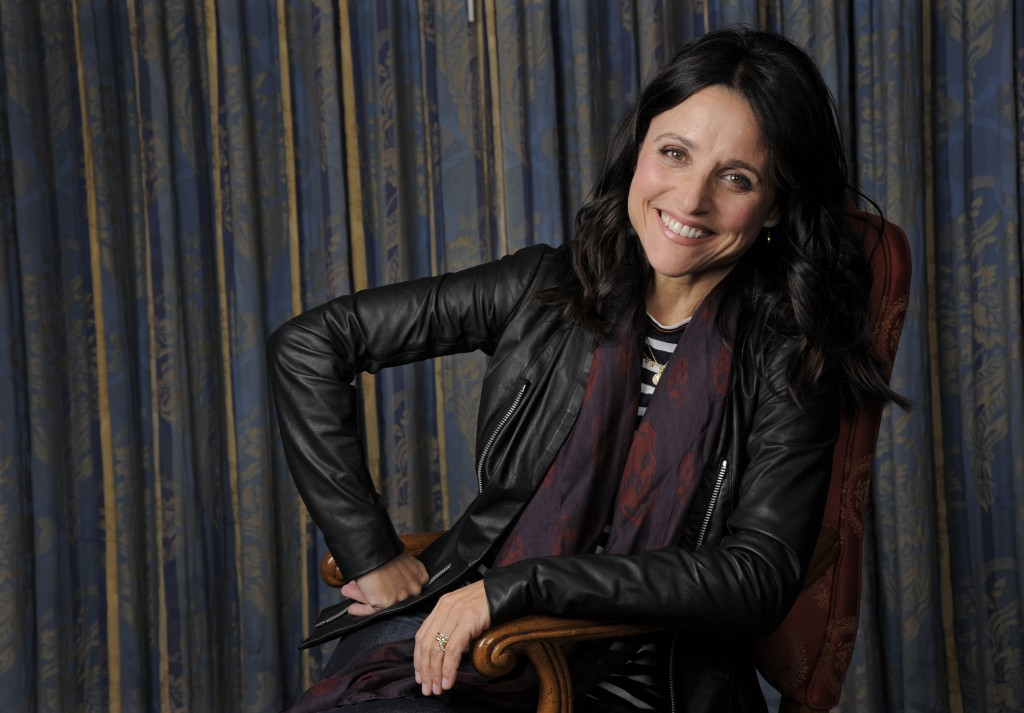 FILE - In this Sept. 8, 2013 file photo, Julia Louis-Dreyfus poses for a portrait at the 2013 Toronto International Film Festival in Toronto. One of t...