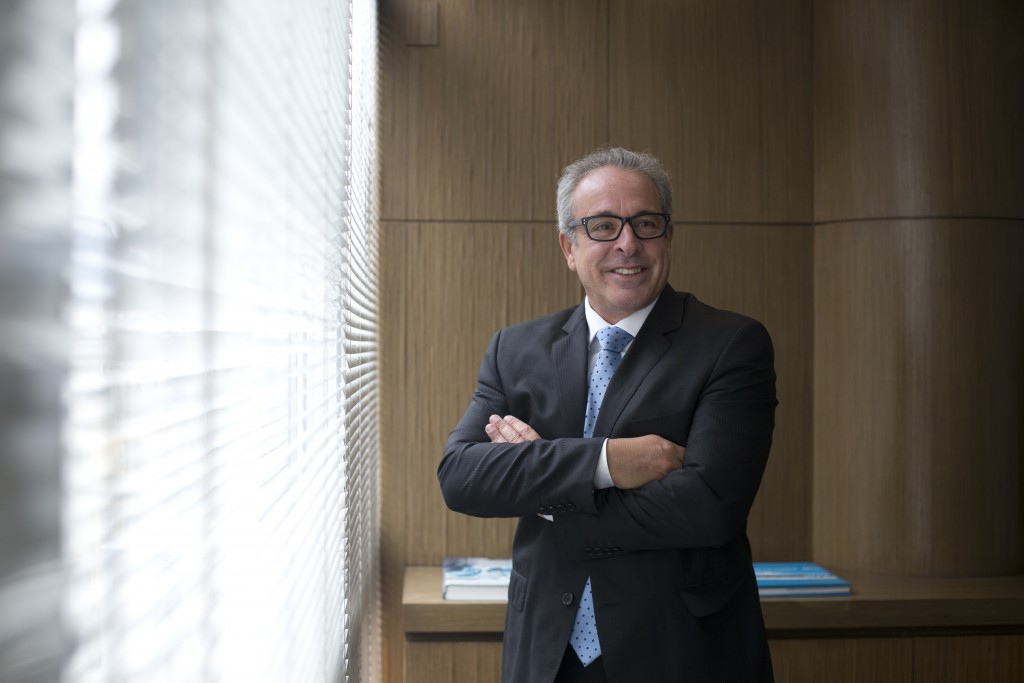 In this Oct. 16, 2018 photo, lawyer Helio Saboya poses for a portrait at his office in Rio de Janeiro, Brazil. Saboya, 58, says he will cast a differe