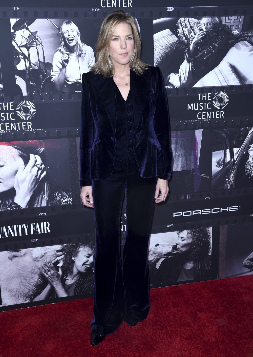 Diana Krall arrives at JONI 75: A Birthday Celebration on Wednesday, Nov. 7, 2018, at the Dorothy Chandler Pavilion in Los Angeles. (Photo by Richard
