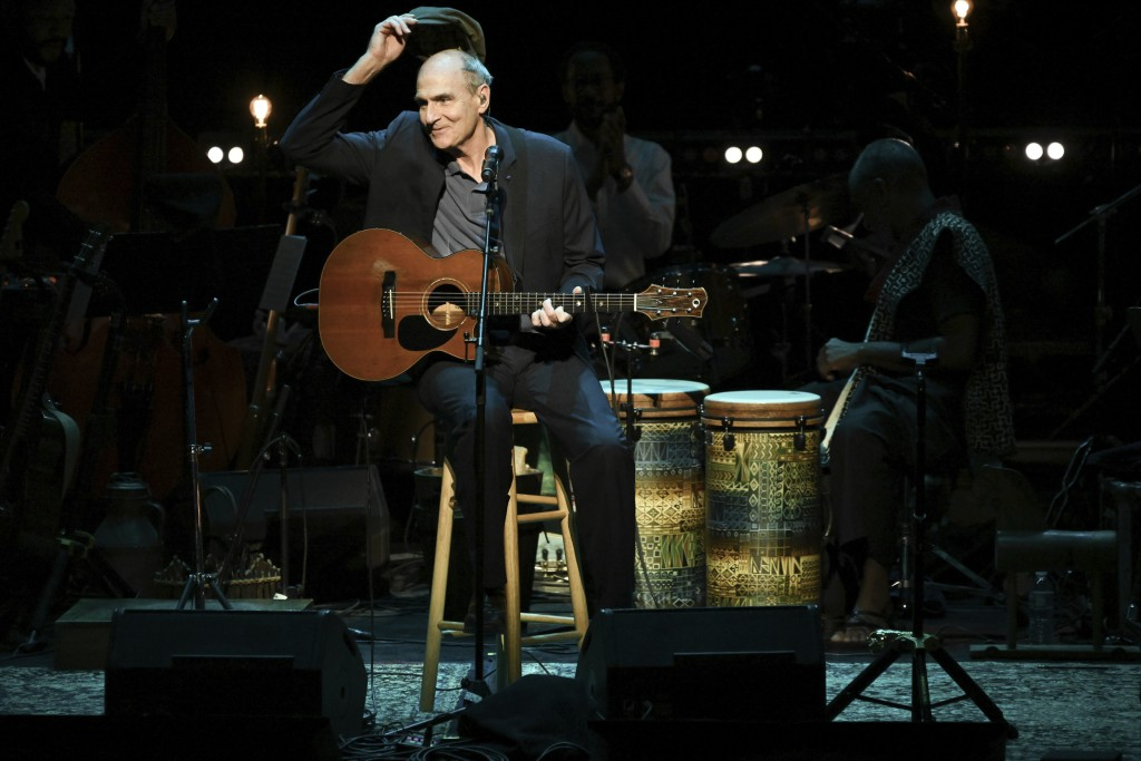 James Taylor performs at JONI 75: A Birthday Celebration on Wednesday, Nov. 7, 2018, at the Dorothy Chandler Pavilion in Los Angeles. (Photo by Richar