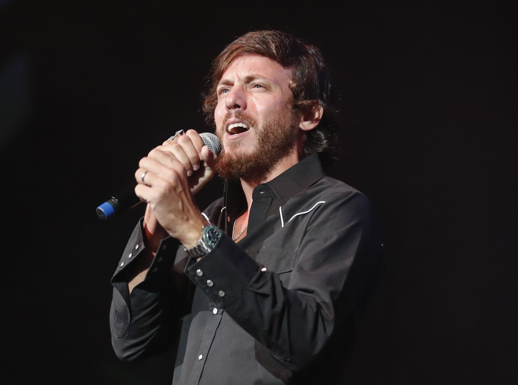 "FILE - In this Sept. 19, 2018 file photo, Chris Janson performs at the 2018 Nashville Songwriter Awards in Nashville, Tenn. Janson's ""Drunk Girl"" is"