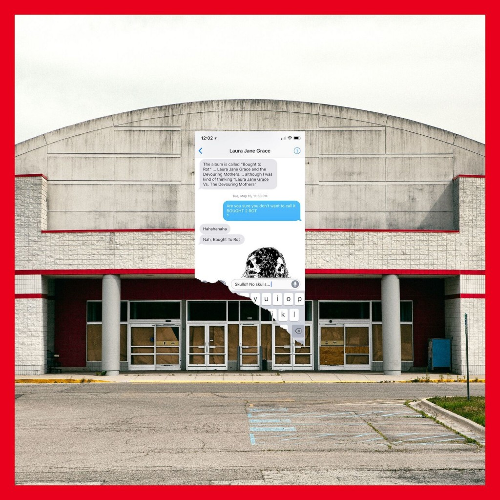 """This cover image released by Bloodshot Records shows """"Bought to Rot"""" a release by Laura Jane Grace & the Devouring Mothers. (Bloodshot Records via AP)"""