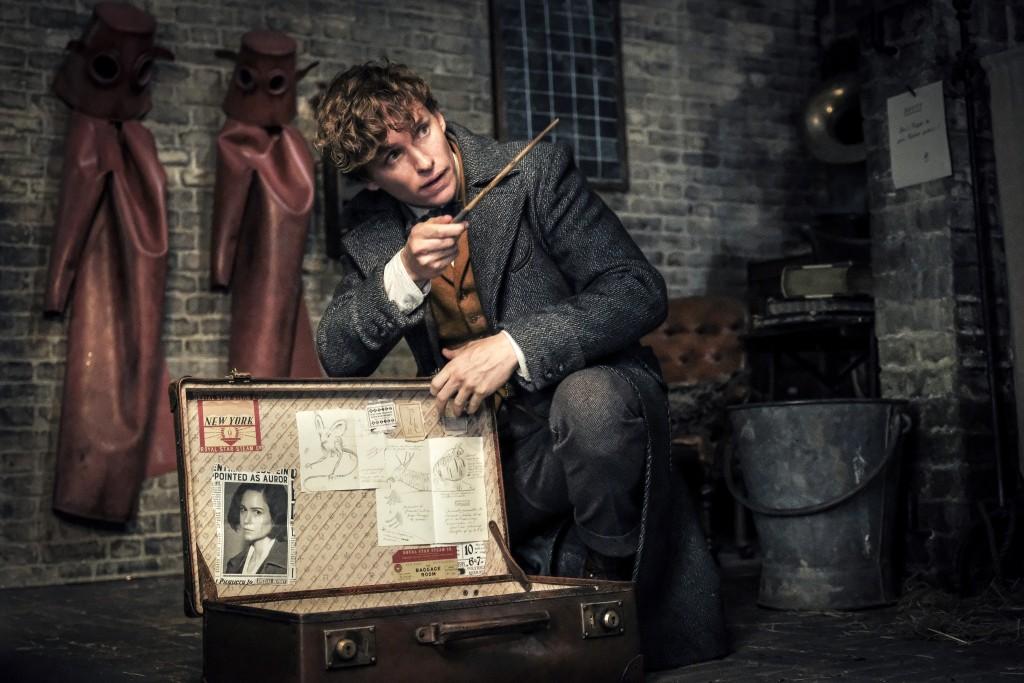 "This image released by Warner Bros. Pictures shows Eddie Redmayne in a scene from ""Fantastic Beasts: The Crimes of Grindelwald."" (Jaap Buitendijk/Warn"