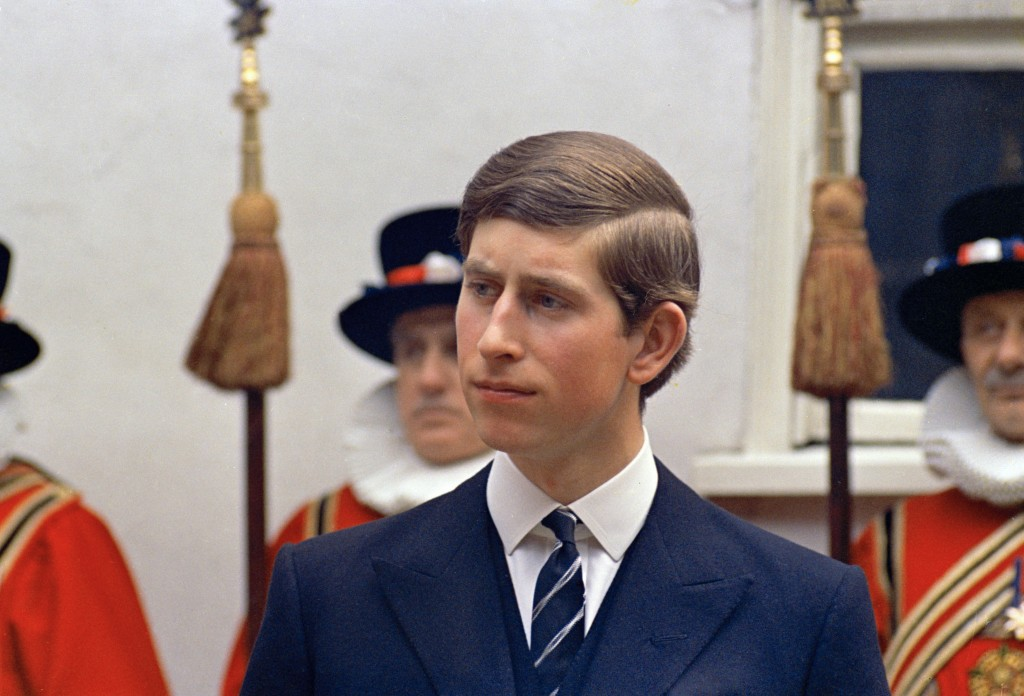 FILE - In this March 25, 1968 file photo, Britain's Prince Charles is photographed in London.  Prince Charles turns 70 Wednesday, Nov. 14, 2018, and h