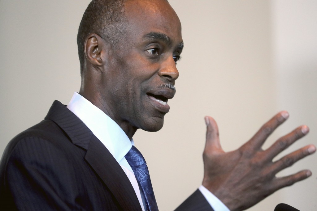 Broward County School Superintendent Robert Runcie testifies during the Marjory Stoneman Douglas High School Public Safety Commission meeting Thursday...