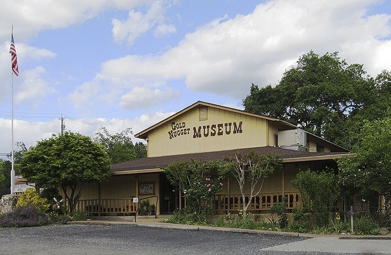 This undated photo provided by Glenn Harrington shows the Gold Nugget Museum in Paradise, Calif. Most homes are gone, as are hundreds of shops and oth