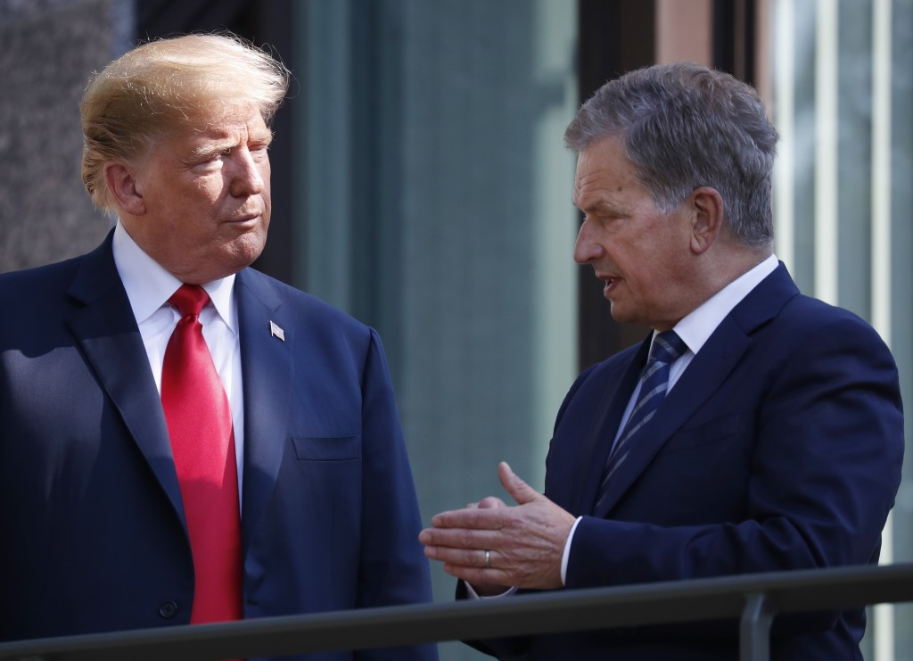 Donald Trump's got the solution to forest fires