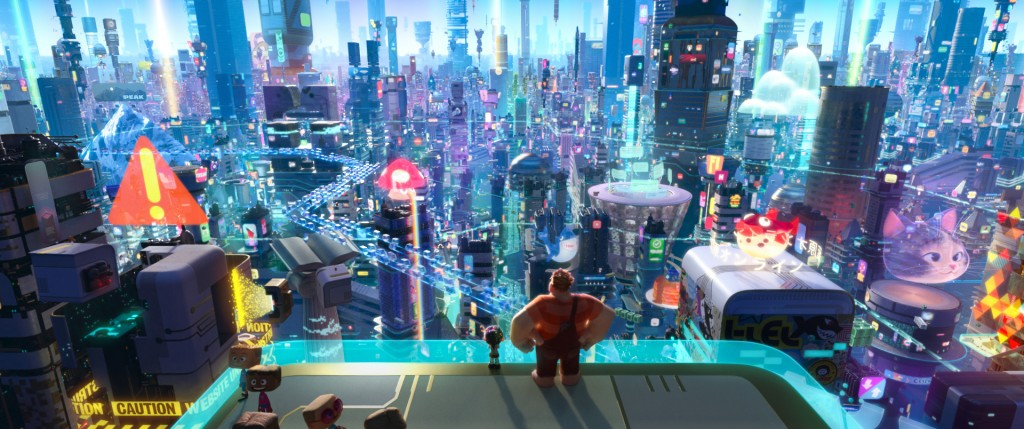 """This image released by Disney shows a scene from """"Ralph Breaks the Internet.""""  (Disney via AP)"""
