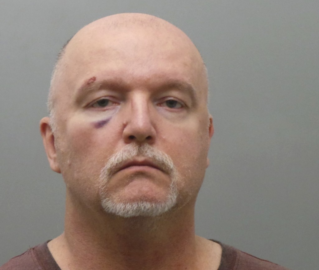 This undated photo provided by the St. Louis County Police Department shows Thomas Bruce of Imperial, Missouri. Bruce was charged Wednesday, Nov. 21,