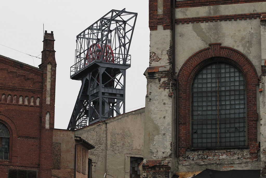 The Nov. 20, 2018 photo shows disused lift and buildings of the closed 'Katowice' coal mine which was turned into the Museum of Silesia that neighbors...