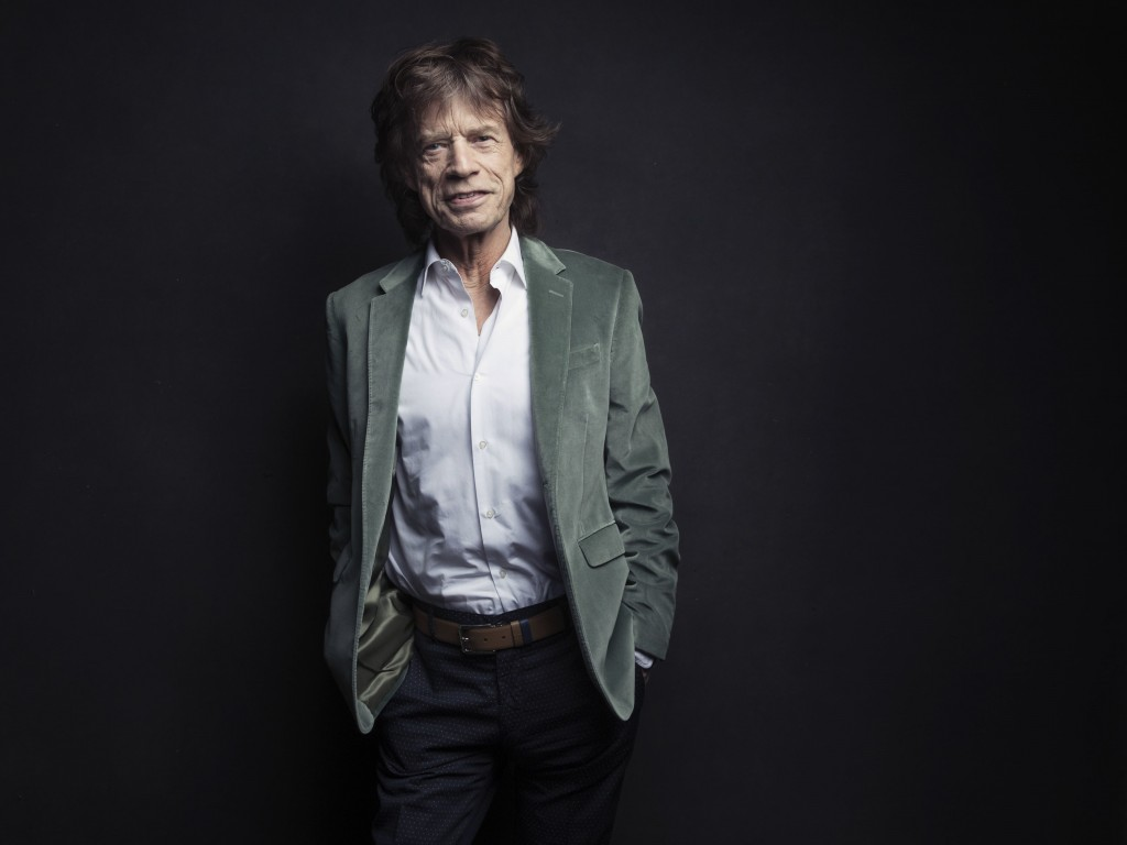FILE - In this Nov. 14, 2016 file photo, Mick Jagger of the Rolling Stones poses for a portrait in New York. The Rolling Stones frontman, who will tou