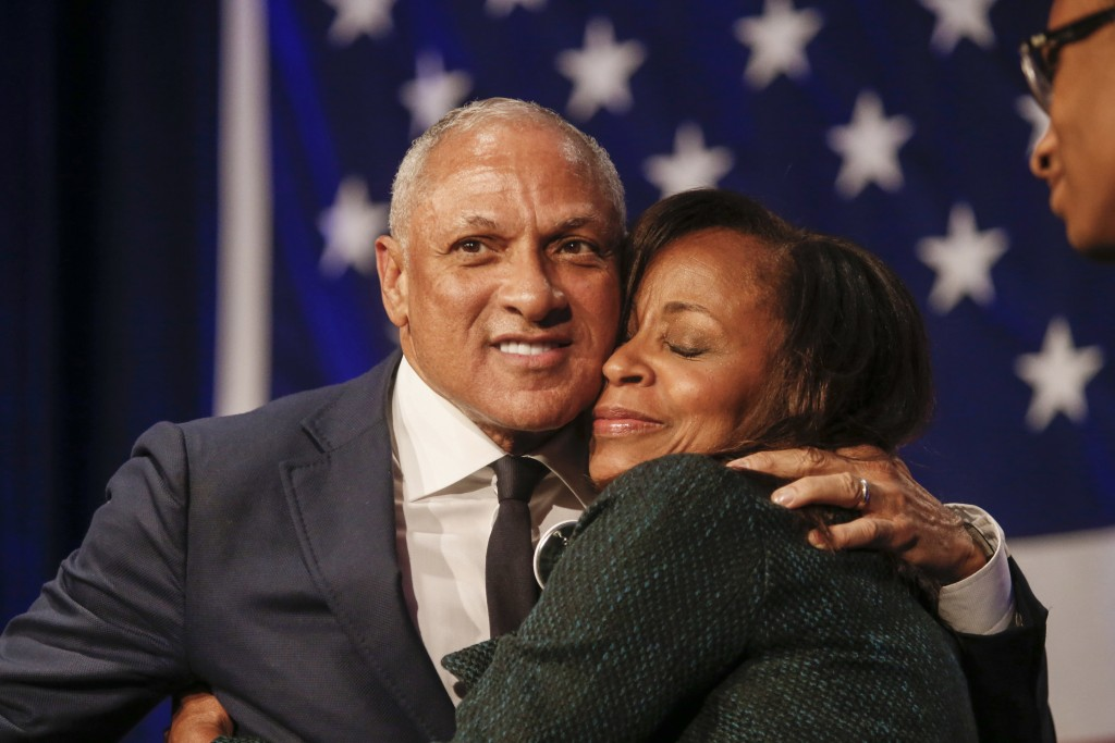 Democrat Mike Espy who sought to unseat appointed U.S. Sen. Cindy Hyde-Smith, R-Miss., and serve the last two years of the six-year term vacated when ...