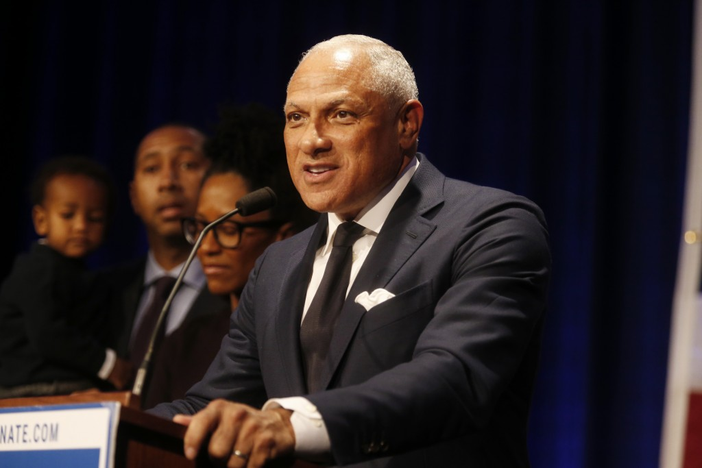 Democrat Mike Espy who sought to unseat appointed U.S. Sen. Cindy Hyde-Smith, R-Miss., and serve the last two years of the six-year term vacated when