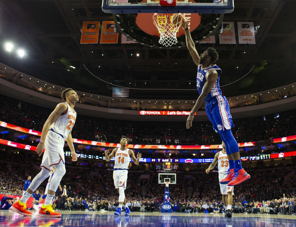 Butler, 76ers welcome Knicks to town
