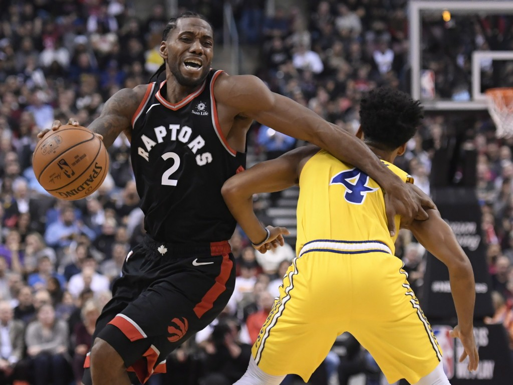 Raptors hold off Warriors, Lakers and Clippers win