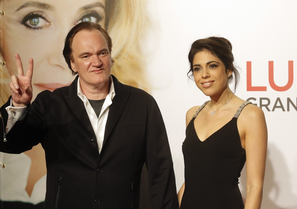 Quentin Tarantino & New Bride Daniella Pick Celebrate Their Wedding in Beverly Hills!