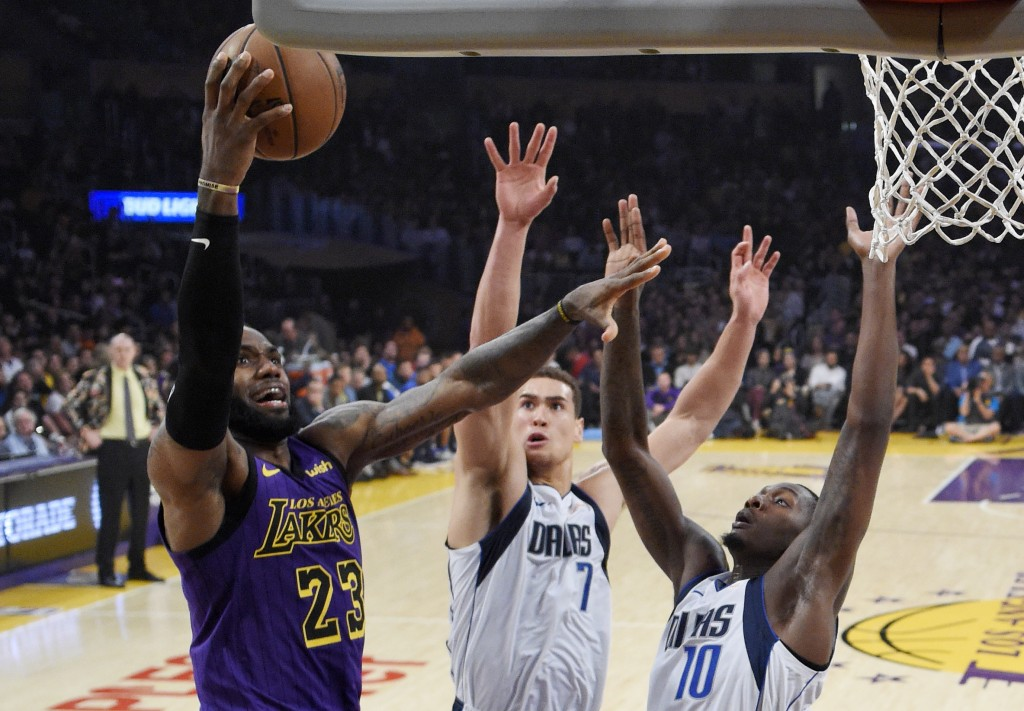 LeBron backs Coach K, teases Duke future for LeBron James Jr