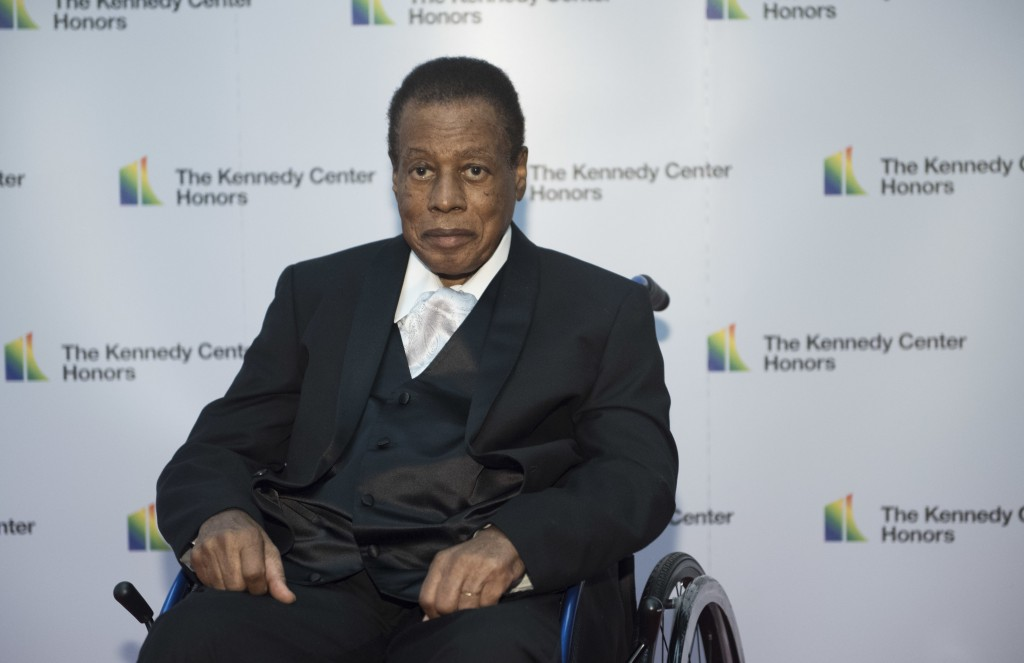 2018 Kennedy Center Honoree jazz saxophonist and composer Wayne Shorter arrives at the State Department for the Kennedy Center Honors State Department...