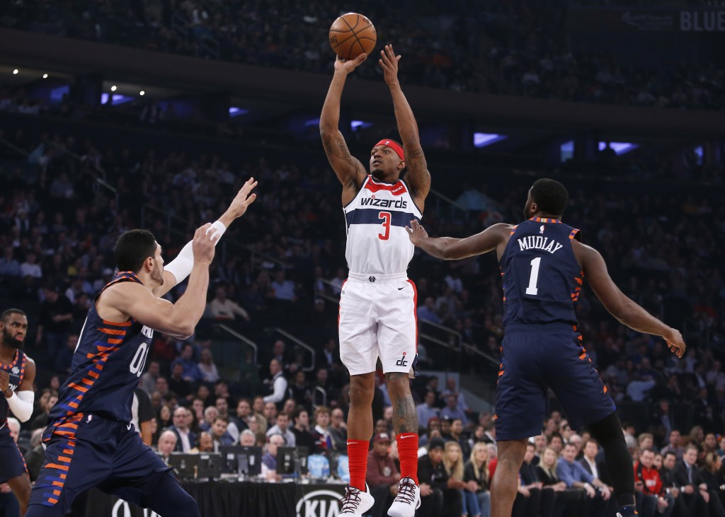 Beal scores 27 as Wizards outlast Knicks
