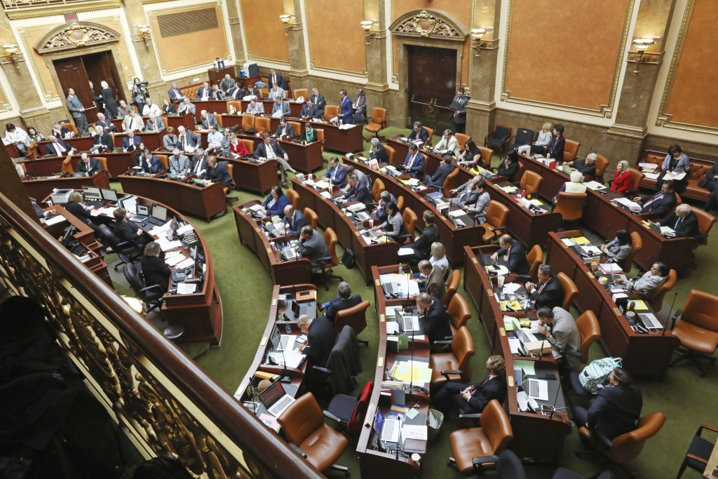 The Utah Legislature goes into session Monday, Dec. 3, 2018, in Salt Lake City. Utah lawmakers are meeting to consider changes to a voter-approved bal...