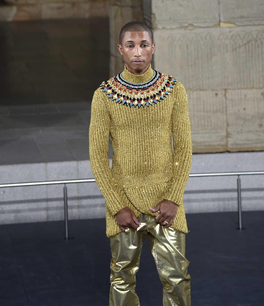 6284f12d107 Pharrell Williams walks the runway at the Chanel Metiers d Art 2018 19 Show