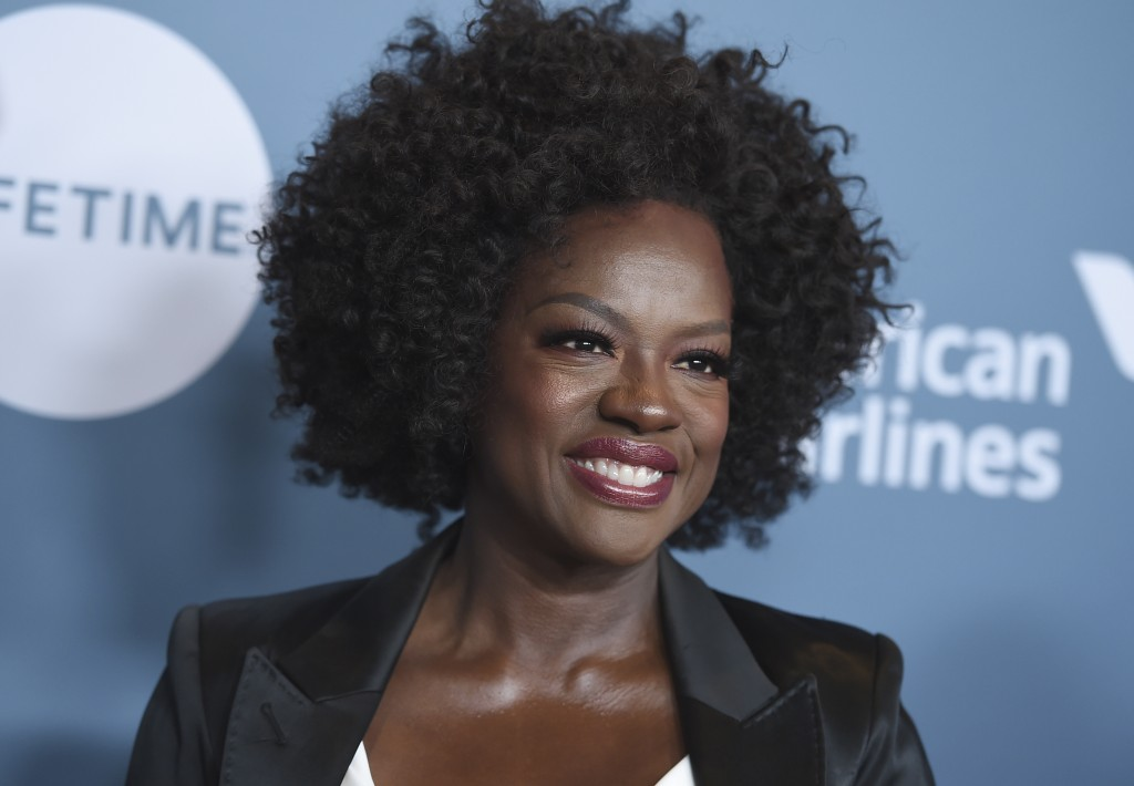Viola Davis arrives at The Hollywood Reporter's Women in Entertainment Breakfast at Milk Studios on Wednesday, Dec. 5, 2018, in Los Angeles. (Photo by