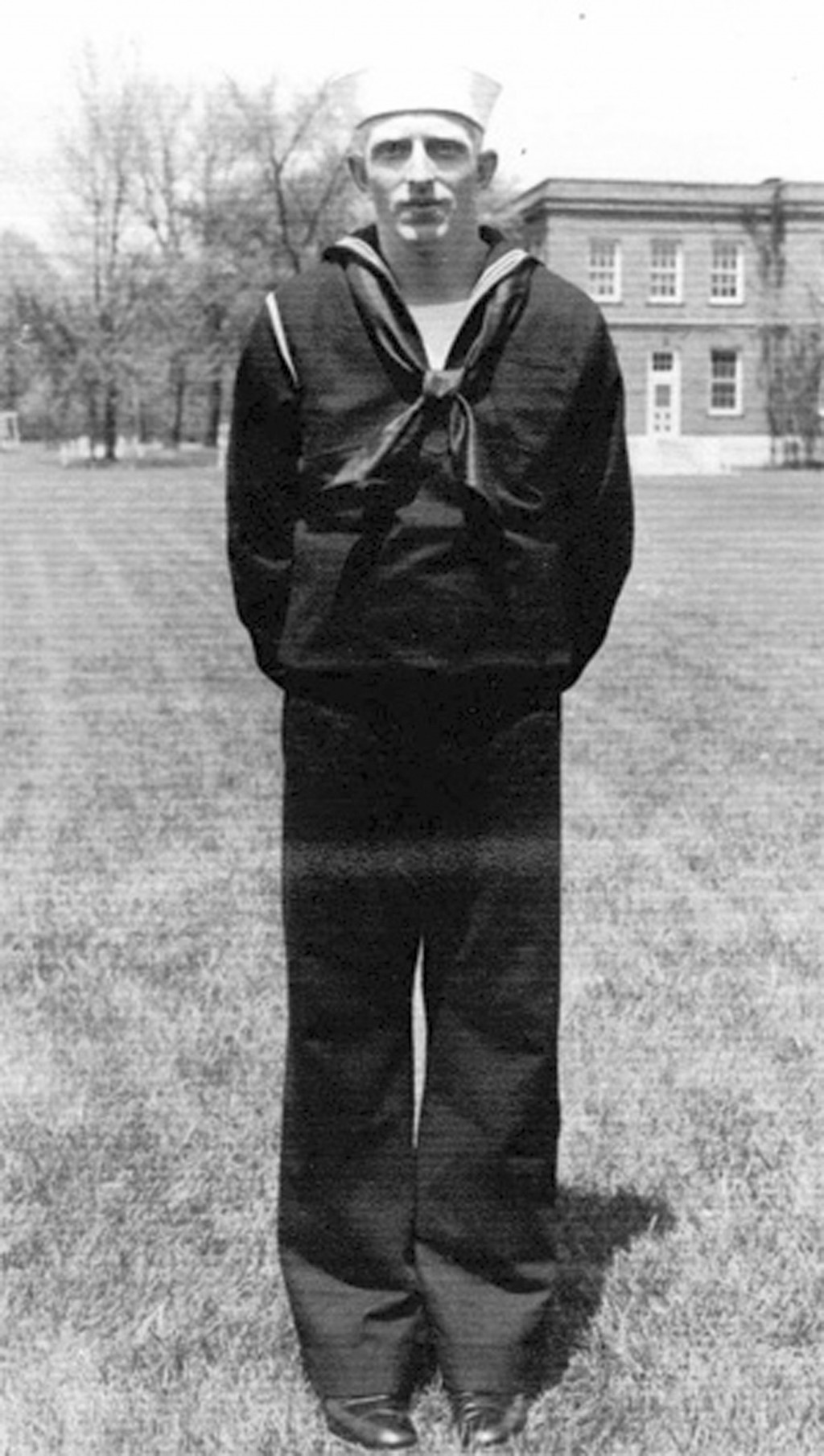 In this undated photo released by the Defense POW/MIA Accounting Agency is Navy Seaman 1st Class William G. Bruesewitz. More than 75 years after nearl