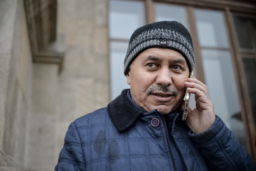 """Kamil Demirkaya, a Turkish journalist who was temporarily detained based on an extradition request from Turkey for """"being a member of a criminal, terr"""