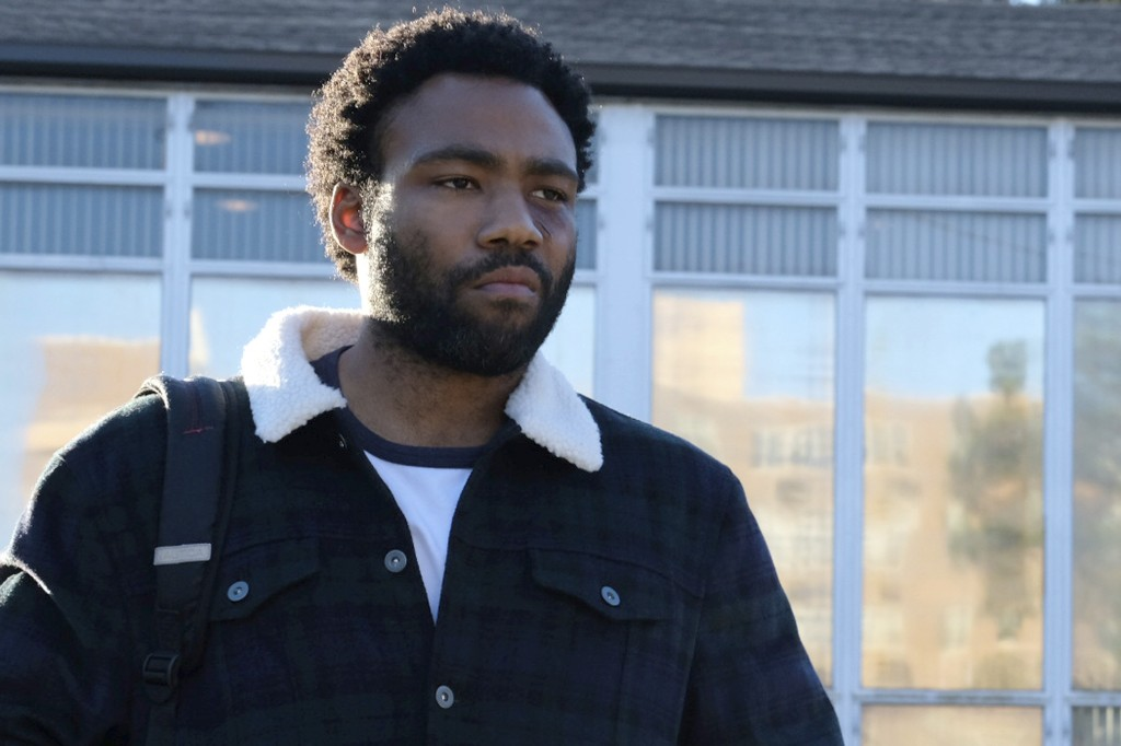 """This image released by FX shows Donald Glover in a scene from the comedy series """"Atlanta."""" On Thursday, Dec. 6, 2018, Glover was nominated for a Golde"""