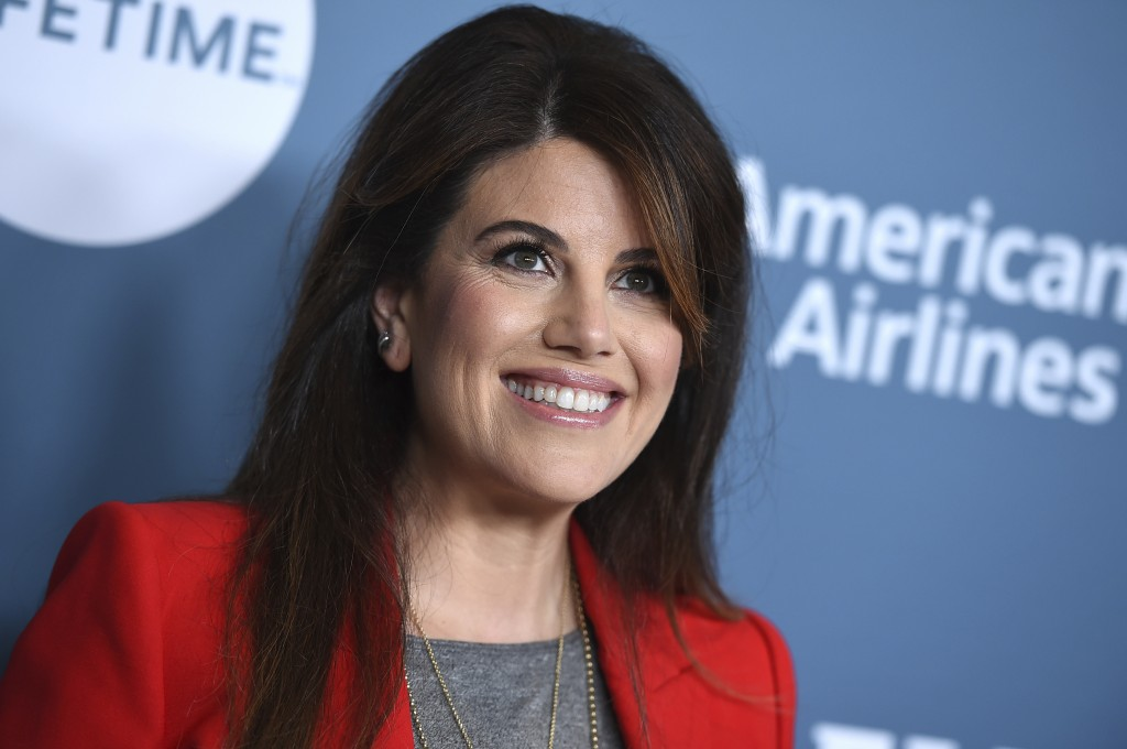 Monica Lewinsky arrives at The Hollywood Reporter's Women in Entertainment Breakfast at Milk Studios on Wednesday, Dec. 5, 2018, in Los Angeles. (Phot