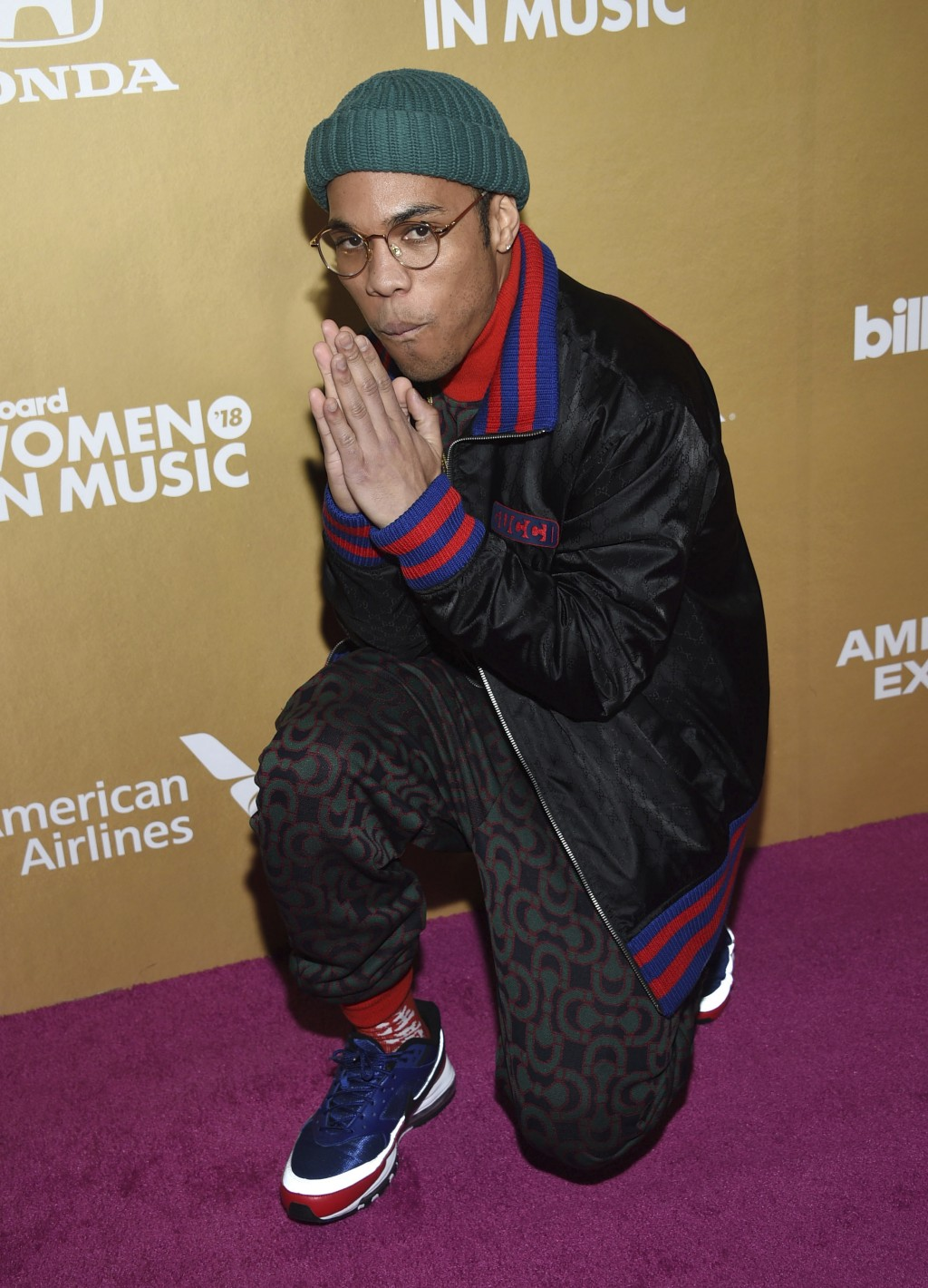 Anderson .Paak attends the 13th annual Billboard Women in Music event at Pier 36 on Thursday, Dec. 6, 2018, in New York. (Photo by Evan Agostini/Invis