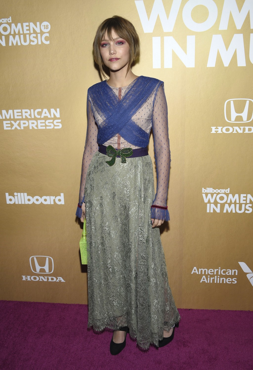 Grace VanderWaal attends the 13th annual Billboard Women in Music event at Pier 36 on Thursday, Dec. 6, 2018, in New York. (Photo by Evan Agostini/Inv