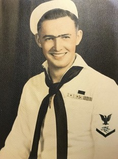This photo provided by retired U.S. Navy Cmdr. Don Long shows Long in his Navy uniform in 1943. Long wasn't at Pearl Harbor when Japanese warplanes bo