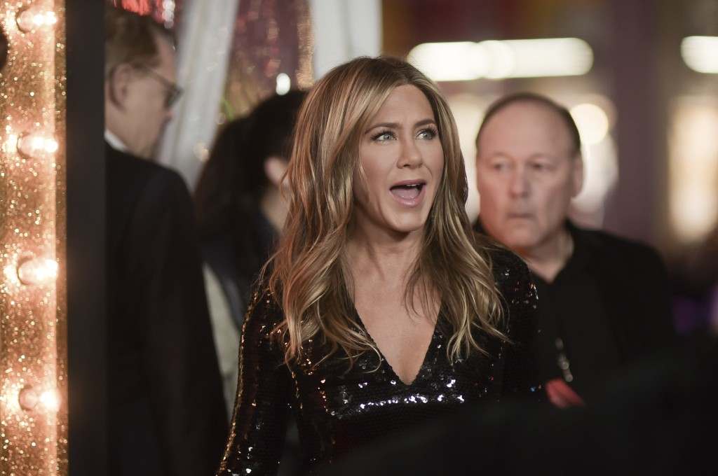 "Jennifer Aniston attends the world premiere of ""Du..."