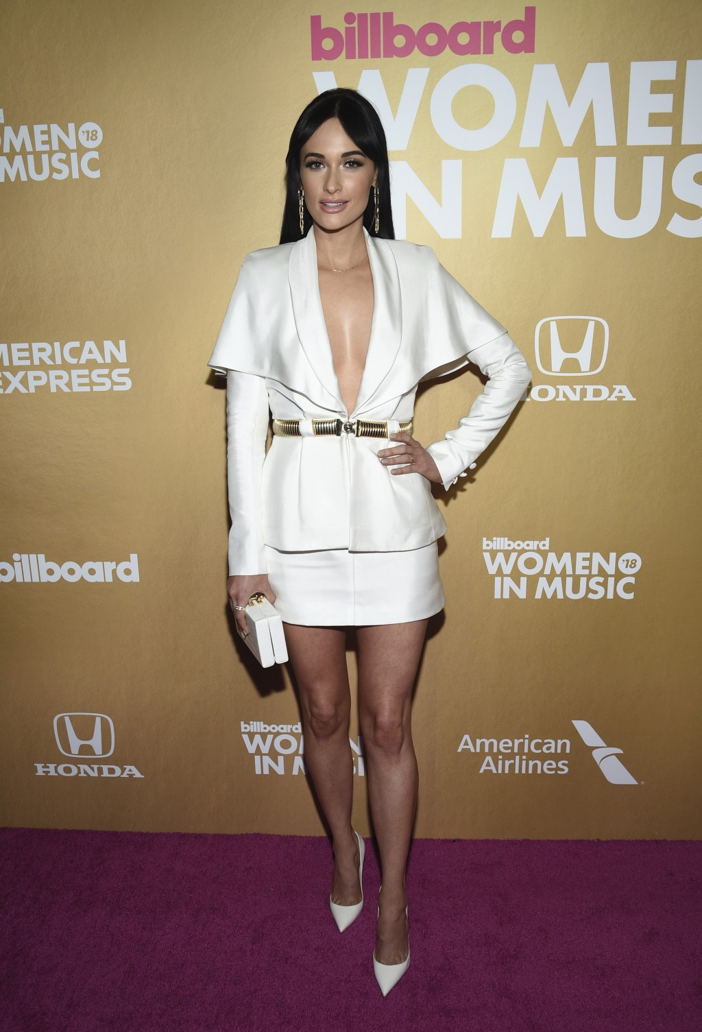 Kacey Musgraves attends the 13th annual Billboard Women in Music event at Pier 36 on Thursday, Dec. 6, 2018, in New York. (Photo by Evan Agostini/Invi