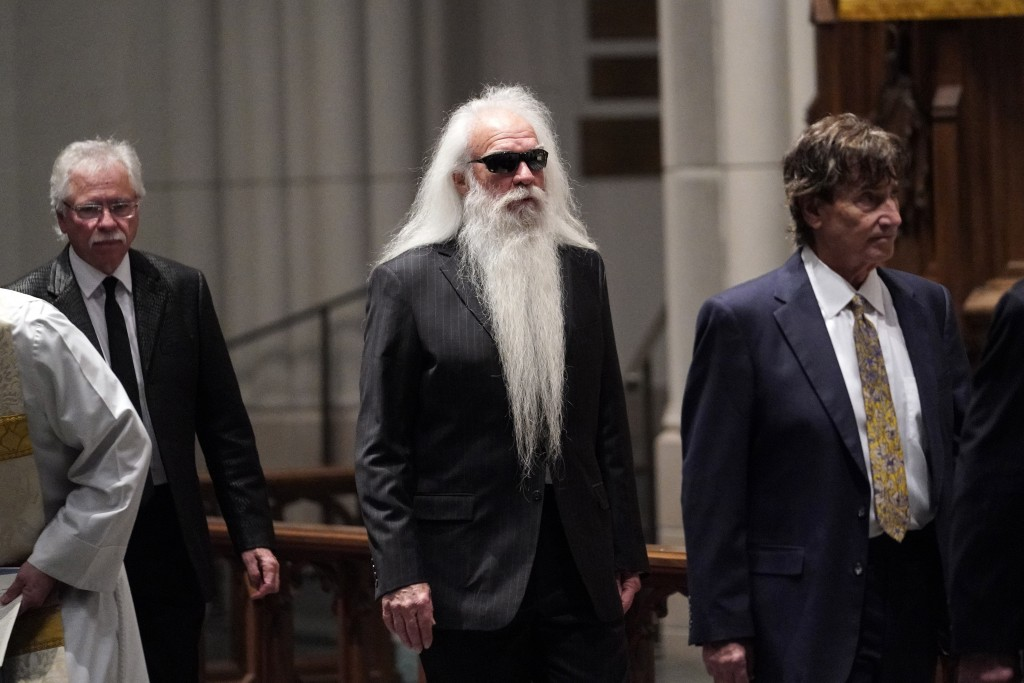 Members of the Oak Ridge Boys arrive for a funeral service for former President George H.W. Bush at St. Martin's Episcopal Church Thursday, Dec. 6, 20