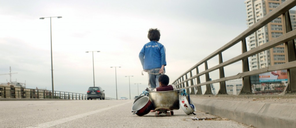 "This image released by Sony Pictures Classics shows a scene from ""Capernaum."" On Tuesday, Jan. 22, 2019, the film was nominated for an Oscar for best"