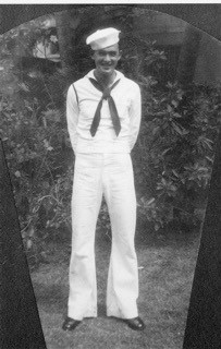 This photo provided by retired U.S. Navy Cmdr. Don Long shows Long in his Navy uniform in 1941. Long wasn't at Pearl Harbor when Japanese warplanes bo