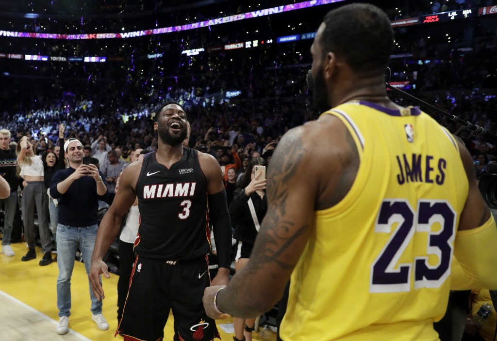 LeBron James Says Dwyane Wade Fueled His Greatness: 'I Needed Him'
